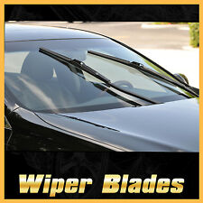2PCS FRAMELESS WINDSHIELD WIPER BLADES WIPERS FOR TOYOTA YARIS 2007-2011 J Hook