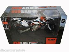 KTM 350 EXC-F ARGENTINA 6 DAYS 1/12 MOTORCYCLE MODEL BY AUTOMAXX 600070