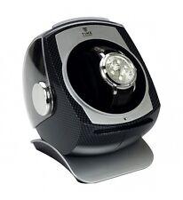 Fibra DI CARBONIO GRIGIO tempo – cupola orologio automatico avvolgitore Storage Box ka083cb