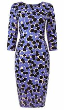 BNWT Phase Eight /8 Jersey Multi Coloured Kata Spot Dress Size 10