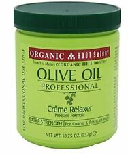 Organic Root Stimulator Olive Oil Creme Relaxer Extra-Strength, 18.75 oz