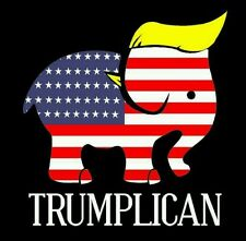 Trumplican Funny Toupee Printed Vinyl Decal/Sticker for Car/Truck/Window