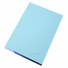 Visual Memory Aid A4 Blue 100 Page Paper Notepad Refill Memo Lined Writing Pad
