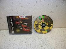 NASCAR Racing PS1 Sony PlayStation 1 Video Game
