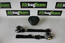 Peugeot Bipper Airbag 2008 - Onwards Drivers Air Bag Seat Belts ECU Kit Set