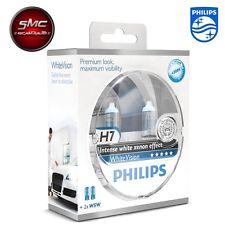 LAMPADE PHILIPS White Vision H7 4300K - 12V 55W + 60% + 2 LUCI DI POSIZIONE W5W