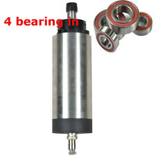 Top Quality FOUR BEARINGS 2.2KW AIR COOLED SPINDLE MOTOR ER20 for CNC