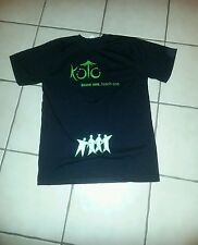 "T-SHIRT;L;LOGO:"" KOTO "";know one, teach one; Koto.com.au;  nice T-SHIRT"