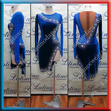 LATIN RHYTHM SALSA BALLROOM COMPETITION DANCE DRESS (LT1004)