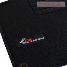 Mattenprofis Velours Fußmatten Edition Logo für Citroen C4 II B7 ab Bj.11/2009