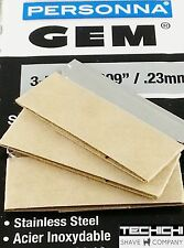 25 Ted Pella GEM Single Edge Razor Blades