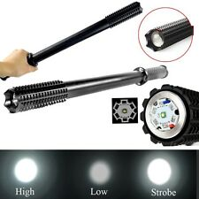 2000 Lumen CREE Q5 LED 3 Modes Baseball Bat Flashlight Security Light Torch Lamp