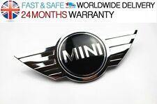 BMW MINI Cooper REAR GENUINE BOOT BONNET CHROME METAL BADGE EMBLEM COOPER ONE S