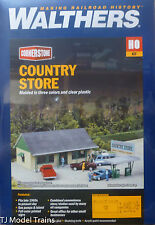 """Walthers HO #933-3491 Country Store -- Kit - 6 x 3-5/8 x 2-3/4"""" 15.2 x 9.2 x 6.9"""
