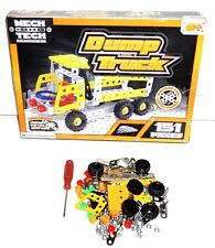 Mech Tech MechTech Metal Construction Toy Dump Truck Kit with NO Building Manual