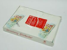 VINTAGE 1982 STRAWBERRY SHORTCAKE SENTIMENT AT CHRISTMAS STATIONARY + ENVELOPE