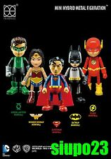 86hero Herocross ~ Hybrid Metal Hero LED Mini Figure Set 5p (Batman Superman...)