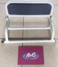 Roma Medical Shower / Commode Chair Adjustable Foot Rest / Plate Model No 414G