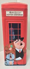 RED TELEPHONE BOX BISCUIT SWEET TIN / RETRO COLLECTABLE MARKS & SPENCER