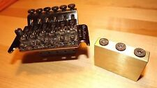 Floyd Rose Special tremolo big brass sustain block bridge upgrade