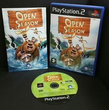 Open Season Game (Sony PlayStation 2, 2006) PS2 & 60gb PS3 compatible