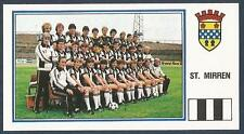 PANINI FOOTBALL 83-#471-A-B-ST MIRREN TEAM PHOTO