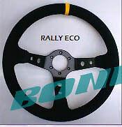 Volante desplazado GTZ Rally Eco piel vuelta ORIGINAL NUEVO