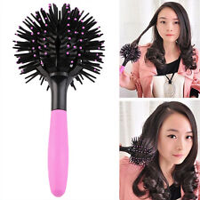 Curl 3D Hair Brush 360 Degree Ball Styling Blow Drying Heat Resistant Hair Comb
