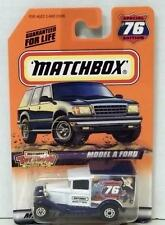 MATCHBOX MODEL A FORD #76 MINT ON CARD DIECAST WHITE DELIVERY TRUCK 1999