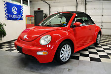 2004 Volkswagen Beetle-New GL Convertible 2-Door