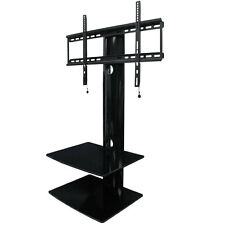 AEON Swiveling TV Wall Mount with Two Shelves,between 100x100mm up to 600x400mm