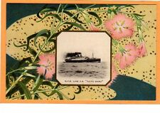 Japan Advertising Postcard - NYK Line S.S. Taiyo Maru