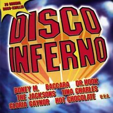 Disco Inferno (1974-80/97, Sony) Gloria Gaynor, Ottawan, Boney M., Erupti.. [CD]