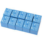 10Pcs Mini DC5V Coil SRD-5VDC-SL-C 10A 250V 30VDC 125VAC 28VDC 5 Pin Power Relay