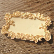 Classical Frame Flower Border Cake Chocolate Mold Mould Fandant Decorations