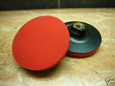 "4"" inch M14 Diamond stone polishing VELCRO pad holder backer ( hook and loop )"