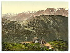 Belalp And Riederfurka Valais Alps Of A4 Photo Print