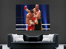 TYSON FURY BOXING  WLADIMIR KLITSCHKO IMAGE WALL POSTER ART PICTURE PRINT