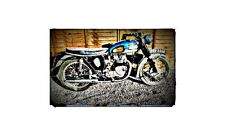 1964 t90 Bike Motorcycle A4 Photo Poster