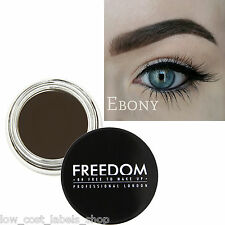 Freedom Makeup Eyebrow Definition HD Brows - Pro Brow Pomade Ebony