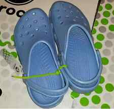 CROCS CLASSIC BEACH CAYMAN SANDAL CLOG SHOE~Light Blue~Men 10-11 W 12-14 XL