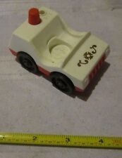 Fisher Price Little People Play Family 928 Fire Station Chiefs Patrol Car