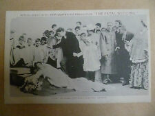 Theatre Actors Postcard: THE FATAL WEDDING from ROYAL PRINCESS'S THEATRE LONDON