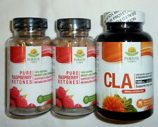 2 Raspberry Ketones + Purists Choice CLA 1000 Mg Conjugated Linoleic Fatty Acid