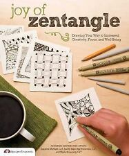 Joy of Zentangle NEW Relaxation/Doodling/Drawing