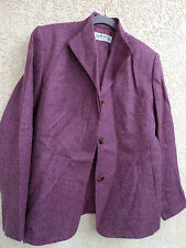 Orvis Herringbone Tweed NWOT Ladies Jacket Rose 100% wool  Size 8 Lined