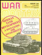 War Monthly Magazine July 1976 German Tank Development EX No ML 112616jhe