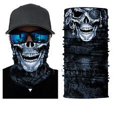 Monocular Blind Face Shield Sun Mask Balaclava Neck Gaiter Bandana Neckerchief