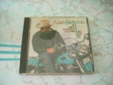 A Lot About Livin' And a Little 'Bout Love Alan Jackson CD Oct-1992 Used