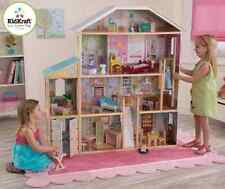 KidKraft Majestic Mansion Dollhouse Wood Doll House with Furniture Play Set